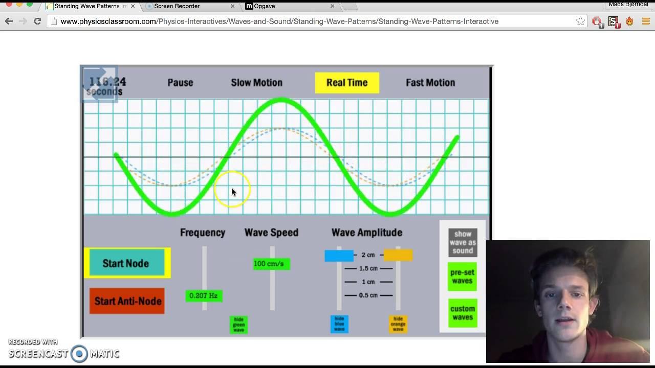 Mundtlig aflevering om bølger 1. modul 151590