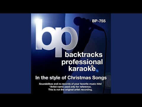 Once Upon A Christmas Song (Karaoke track Without Background Vocal) (In the style of Geraldine...