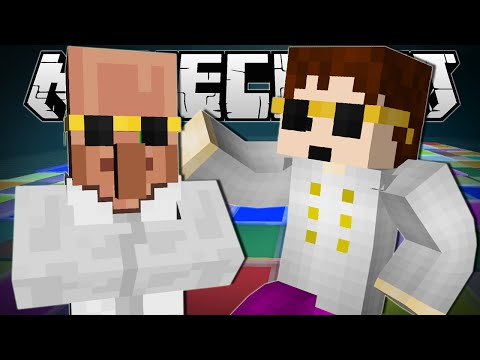 Minecraft  BIGGEST DANCE PARTY EVER!!  Block Party Minigame