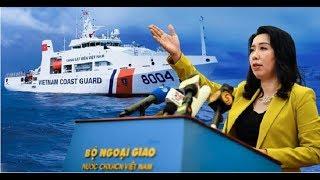 Phát ngôn Bộ ngoại giao VN tiếp tục thông tin diễn biến mới liên quan tàu HD8 TQ tại Bãi Tư Chính