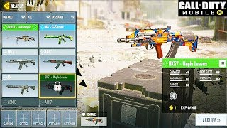 Call of Duty: Mobile - ALL GUNS, ATTACHMENTS, PERKS & EQUIPMENT (ANDROID / iOS)