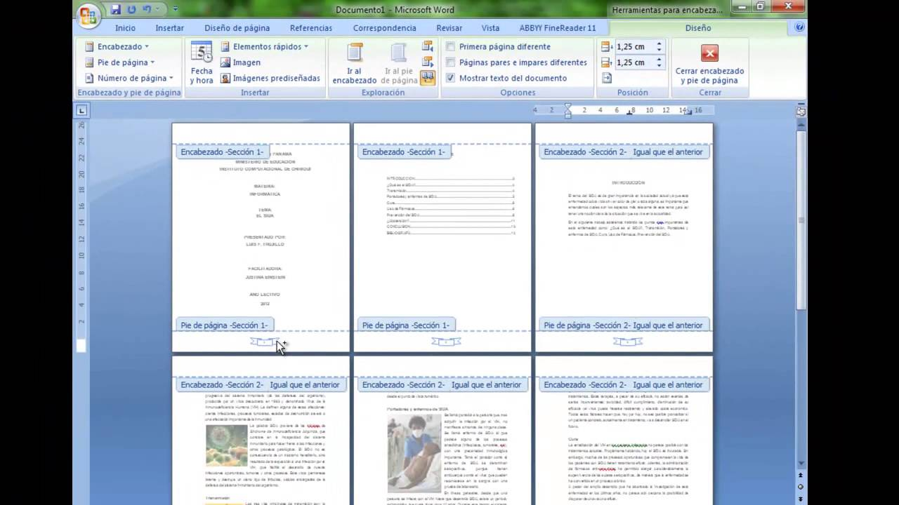 como insertar numero de pagina en word 2013 desde una pagina especifica