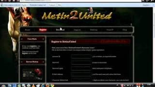 Metin2 United \\\\registo e download\\\\