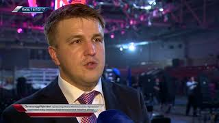 Александр Красюк, промоутер Олега Малиновского. О защите пояса подопечным нокаутом в первом раунде