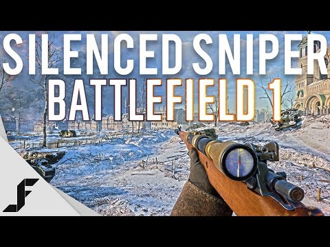 Using a Silencer in Battlefield 1