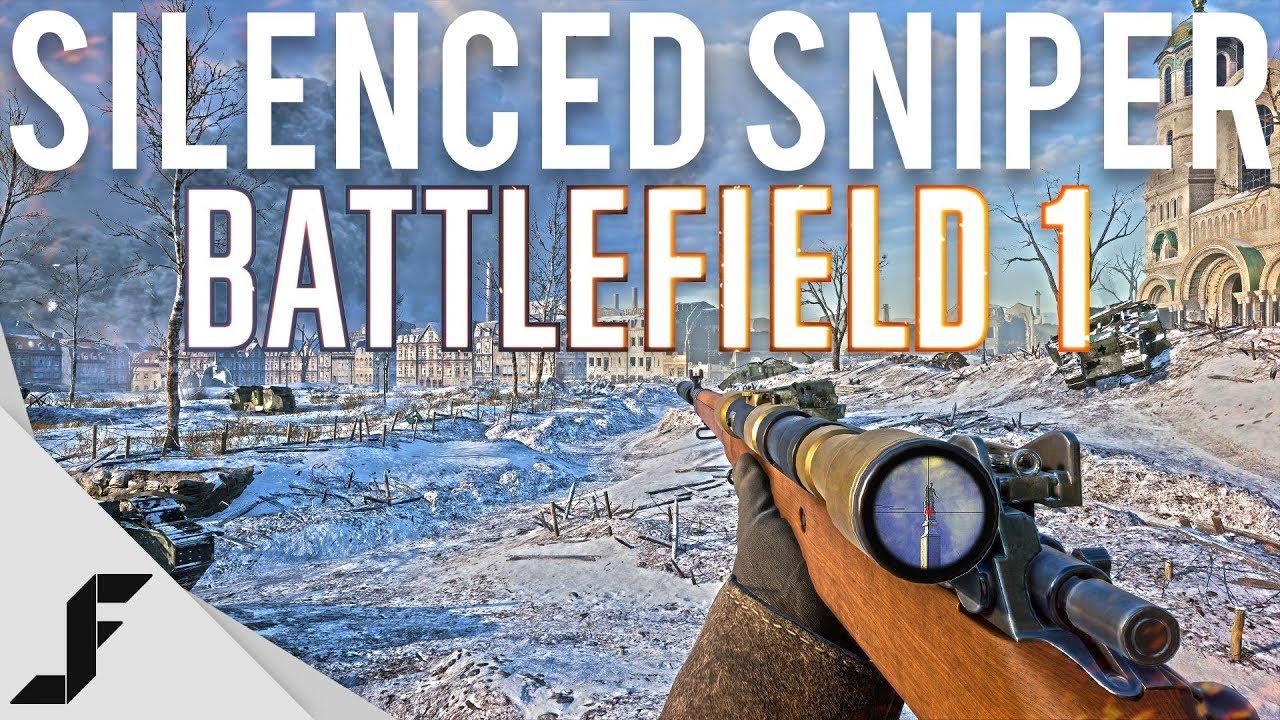 Using a Silencer in Battlefield 1