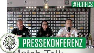 #FCHFCS // Pressekonferenz FC 08 Homburg - 1. FC Saarbrücken (RLSW 2016/17)