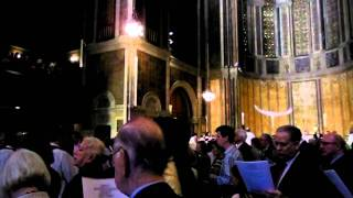 """Jesus Christ Is Risen Today"", Easter Processional, St. Bartholomew's Church.MP4"