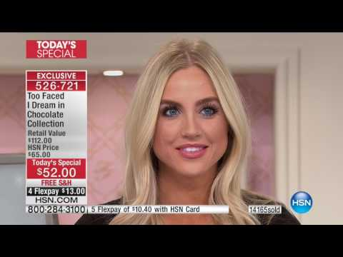 HSN | Too Faced Cosmetics 03.16.2017 - 11 PM