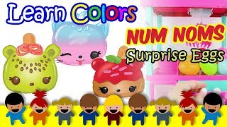Kids Learning Videos, Learn Colors For Kids & Toddlers & Children With Surprise Eggs Claw Machine