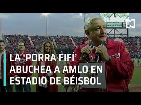 AMLO inauguró estadio de béisbol entre abucheos - Despierta con Loret