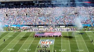 Carolina Panthers Vs. New York Giants Game