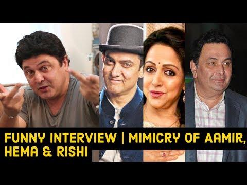 Mimicry Of Aamir Khan, Hema Malini & Rishi Kapoor By Ali Asgar | EXCLUSIVE INTERVIEW