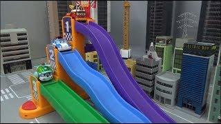 Robocar Poli 3 Color Slide Toys 로보카폴리 3 색깔 미끄럼틀 장난감