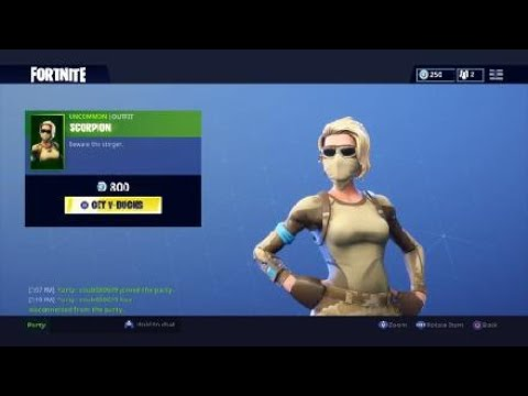 New Scorpion Armadillo Skins Fortnite Item Shop August 27
