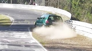 NÜRBURGRING FAIL Compilation Dangerous Moments FAIL & WIN Touristenfahrten Nordschleife NURBURGRING