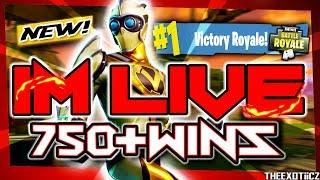 NEW VENTURION SKIN! TOP PS4 SOLO PLAYER!   699 Solo Wins   Fortnite Battle Royale LIVE