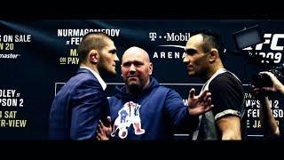 Khabib Nurmagomedov vs Tony Ferguson - Fight Which Waiting For Millions 2018 HD