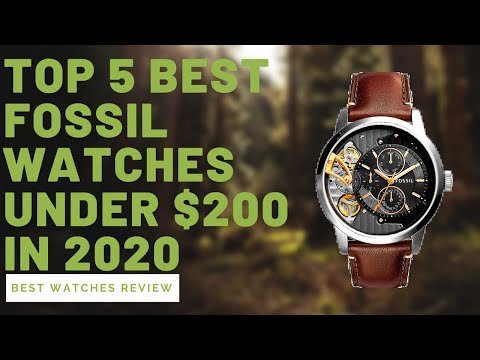top-5-best-fossil-watches-under-$200-in-2020---best-watches-review