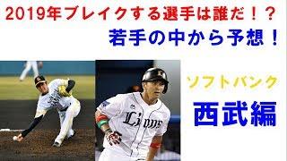 【プロ野球】今年ブレイクしそうな若手選手を予想!ソフトバンク・西武編