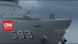 Wujud Kapal Perang Pengawal Samudra Indonesia; TNI Angkatan Laut