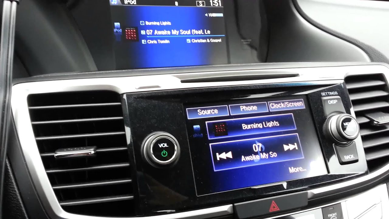 Accord 2013 Coupe >> 2013 Honda Accord Radio Problems - YouTube