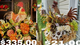FALL DIY DUPE CHALLENGE HOSTED BY KANYA DECOR CORNER & ECLECTIC KRISTEN .🐓🍁🍂🍁🍂