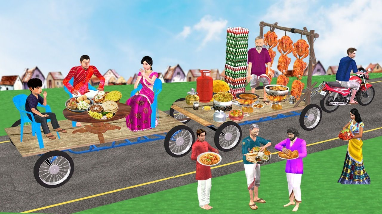 Must Watch Funny New Comedy Video मोटरबाइक रेस्टोरेंट Motorbike Restaurant Hindi Kahaniya Comedy