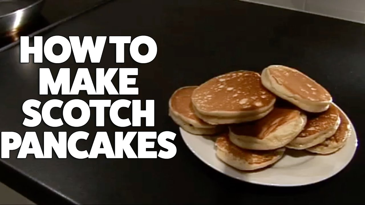 How to make scotch pancakes youtube how to make scotch pancakes ccuart Images