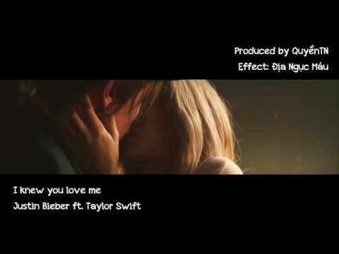 [MV] [Lyrics + Kara] I Knew You Love Me (Mashup) - Justin Bieber ft. Taylor Swift