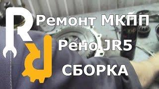 Majlis qo'lda uzatish Renault JR5