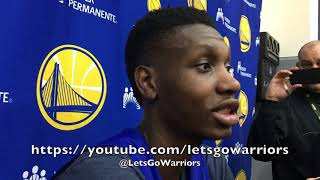 Entire CHRIS BOUCHER interview: called up from G League, advice from D.West, Jordan Bell back