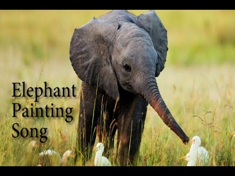 elephant painting song an elephant never forgets youtube. Black Bedroom Furniture Sets. Home Design Ideas