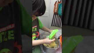 How to make instant noodles part 1