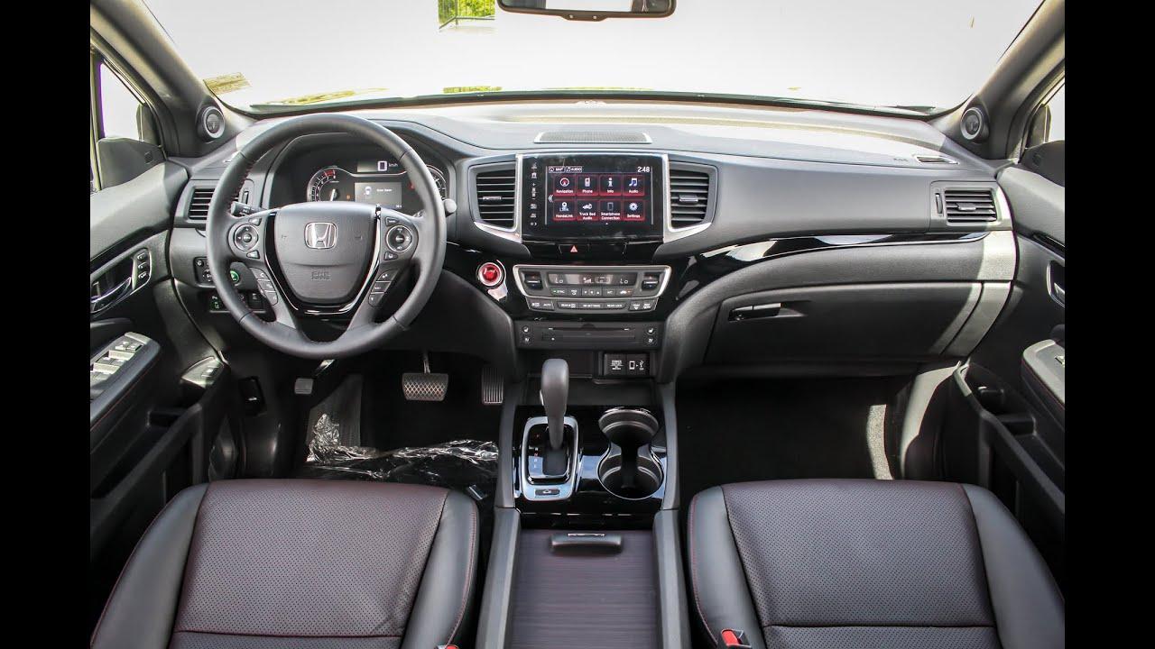 New Redesigned 2017 Honda Ridgeline Interior Review Harmony Kelowna Bc