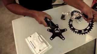Rotor + Superfly: Montaje de bielas REX y platos Q-Rings