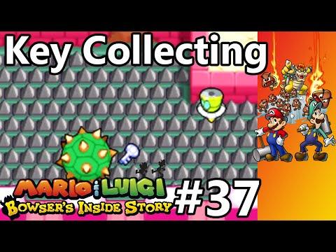 Mario Luigi Bowser S Inside Story Episode 37 Key