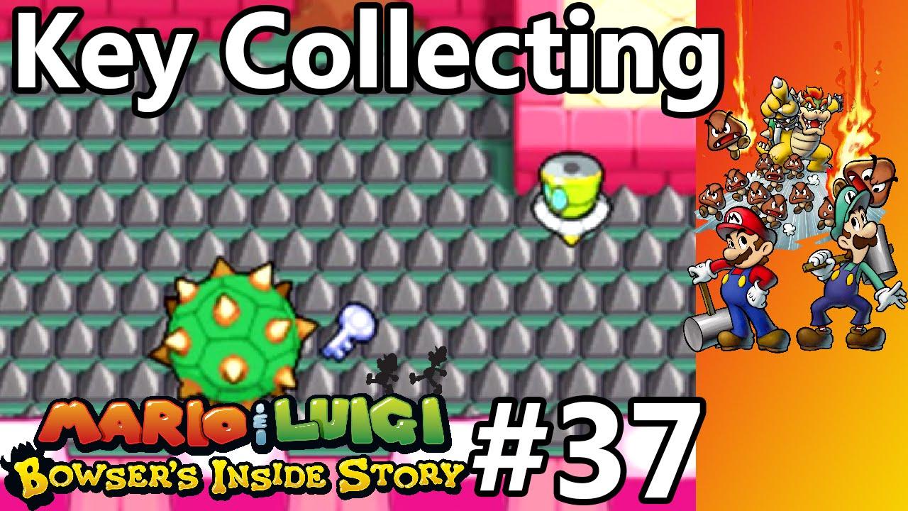 Mario Luigi Bowser S Inside Story Episode 37 Key Collecting
