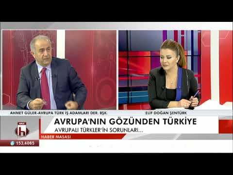 Avrupa'nın Gözünden Türkiye Ahmet Güler 13 12 2017