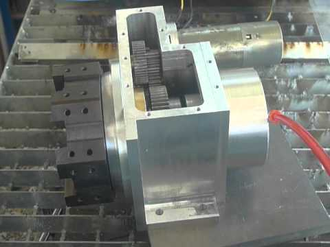 Cnc Turret 8 Position Tool Changer For A Cnc Lathe Youtube