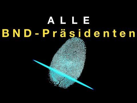 Alle BND-Präsidenten