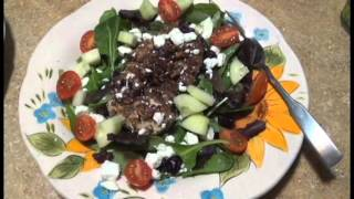 Pecan Crusted Chicken Salads & A Shout Out!