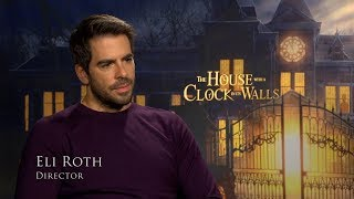 The House With A  Clock In Its Walls -  Amblin Eli Roth Interview