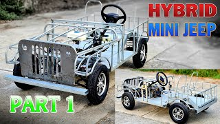 How To Make a Mini Jeep Hybrid at home - Part 1