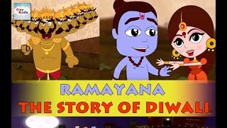 CineKids Short Stories: Ramayana│Story of Diwali