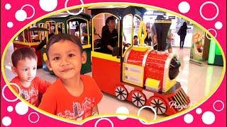 Naik Kereta Api Tut Tut, Keliling Kota | Kereta Api Indonesia | Mainan Anak Laki-laki | Lagu Anak