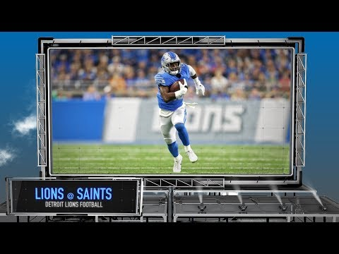 Detroit Lions vs. New Orleans Saints - Detroit Lions Preview Show