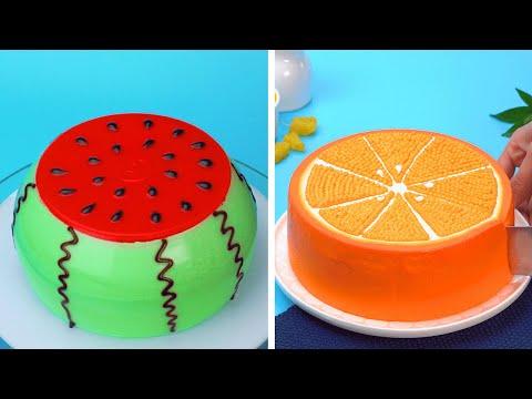 How To Make Fruit Cakes Decorating Hacks | Best Cake Recipes Compilation | Tasty Cake Ideas