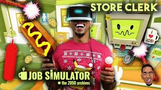 job simulator store clerk gameplay psvr