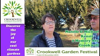 Narelle & Michael Kensit - Exhibitors- Crookwell Garden Festival 2019